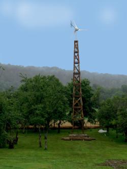 Mât d'éolienne - Doubs - 09